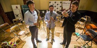 EMTA saksofonitudeng Xinyu Wu oli Hispaanias konkursil edukas