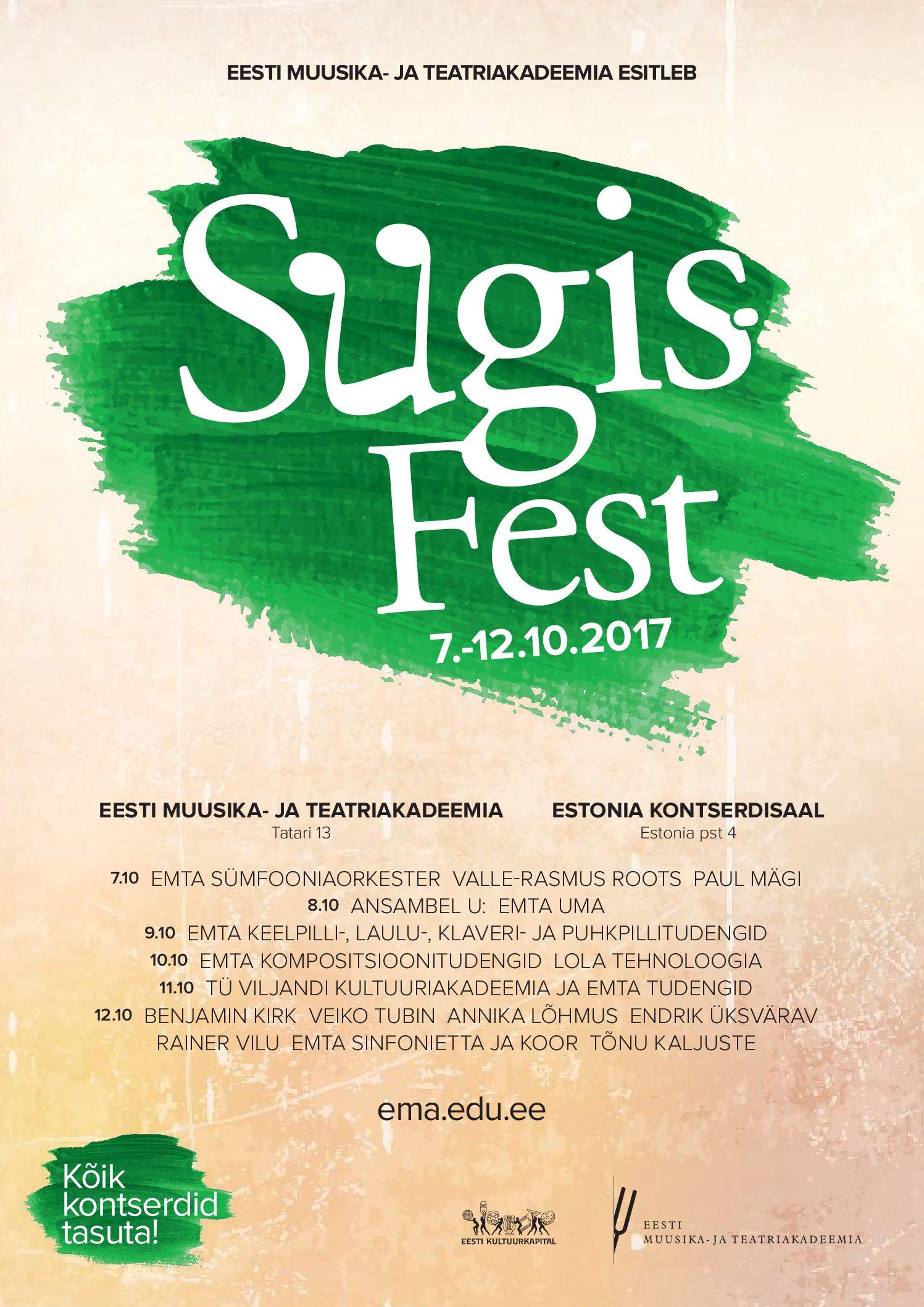 SügisFest. Performance