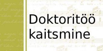 Aivar Simmermann kaitseb doktoritööd 22. novembril