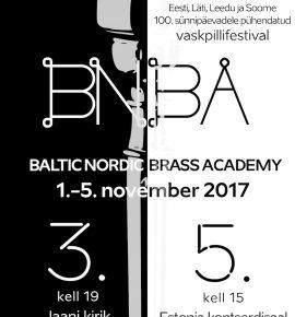 Baltic Nordic Brass Academy kirikukontsert