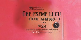 """The exhibition """"The Story of One Object"""" will be opened at the EAMT library on 11 December"""