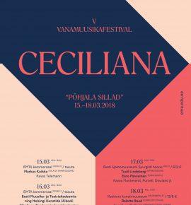 Ceciliana 2018. EMTA ja SibA barokkorkester ja solistid
