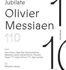 Jubilate. Olivier Messiaen 110