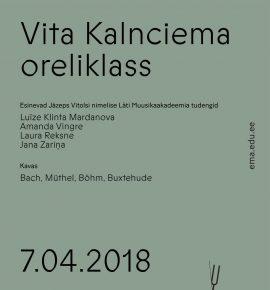 Jāzeps Vītolsi nimelise Läti Muusikaakadeemia oreliüliõpilased
