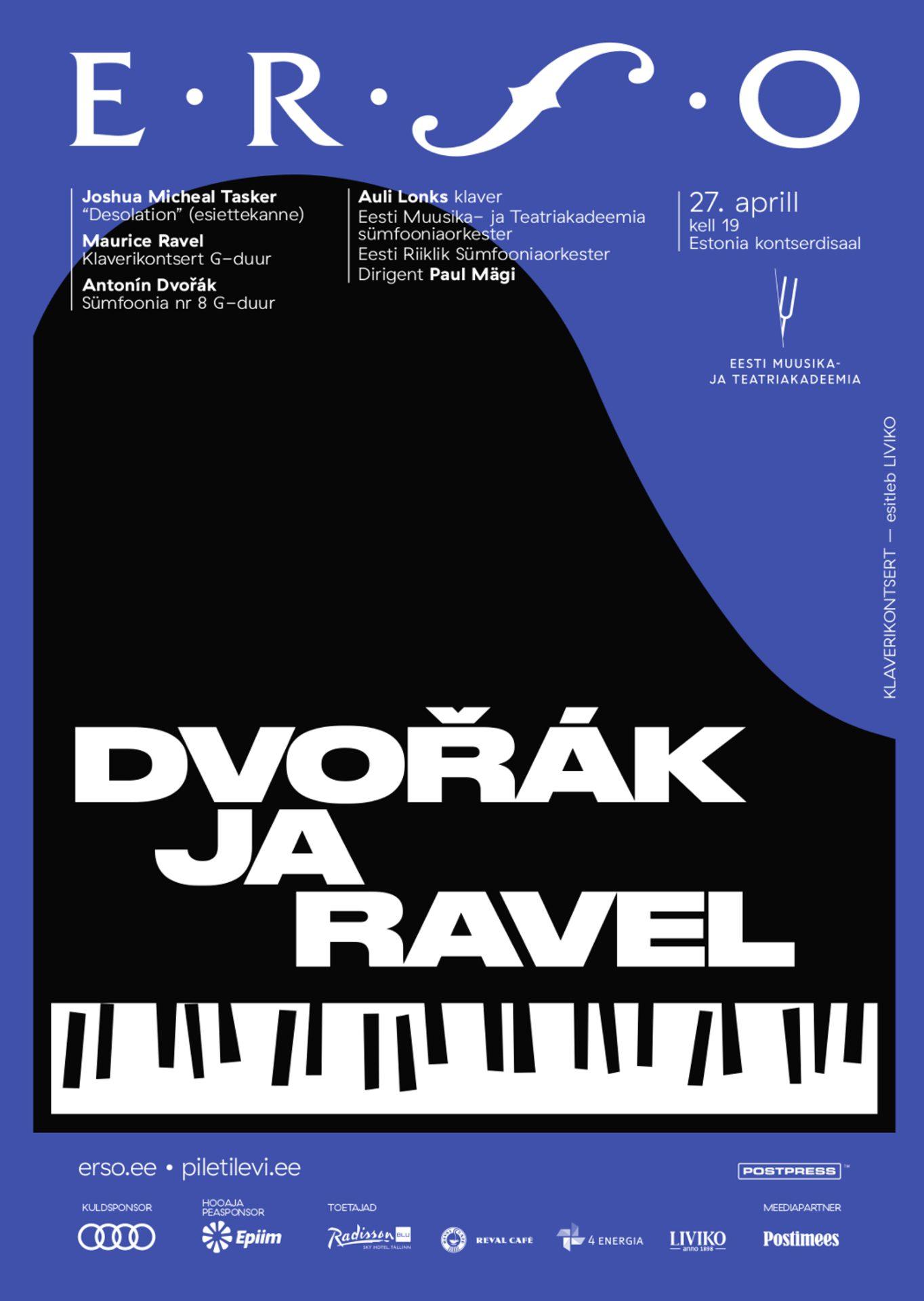 Klaverikontsert. Dvořák ja Ravel