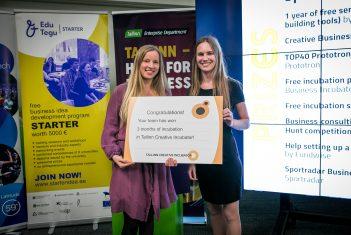 StarterCreative kevadprogrammi I preemia võitis EMTA üliõpilane Karolin Kõrre
