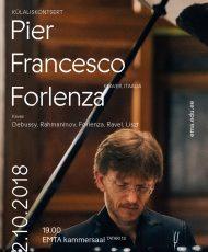Külaliskontsert. Pier Francesco Forlenza