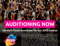 European Union Youth Orchestra audition