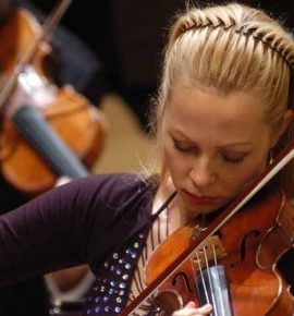Meistrikursus viiuldajaile: Rūta Lipinaitytė
