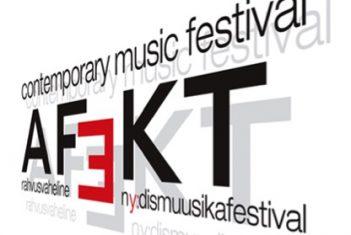Rahvusvahelise Nüüdismuusika Festivali AFEKT2018 sümpoosium