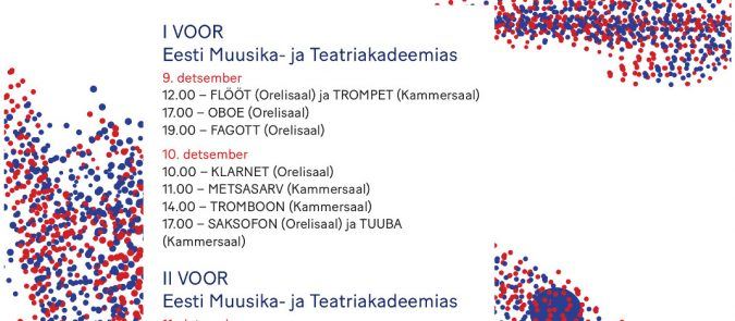 Eesti Interpreetide Konkurss Puhkpillidele 2018
