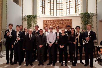 EMTA brassiansambel osales Baltic Nordic Brass Academy intensiivkursusel Helsingis