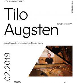 Külaliskontsert. Tilo Augsten