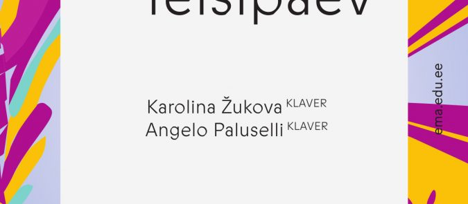 Tudengiteisipäev. Karolina Žukova ja Angelo Paluselli