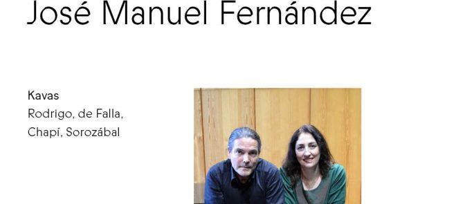 Külaliskontsert. Patricia Blanco ja José Manuel Fernández