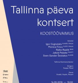 Koostöövaimus. Tallinna päeva kontsert