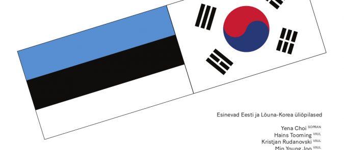 Ristuvad kultuurid / Crossing Cultures: Eesti – Lõuna-Korea