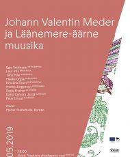 Johann Valentin Meder ja Läänemere-äärne muusika