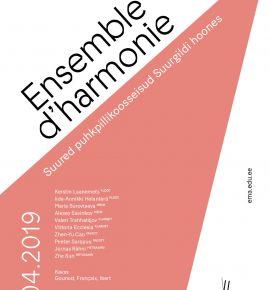 Ensemble d'harmonie. Suured puhkpillikoosseisud Suurgildi hoones