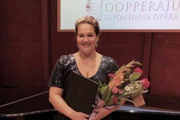 EMTA laulu üliõpilane Sonja Herranen esines edukalt Timo Mustakallio konkursil