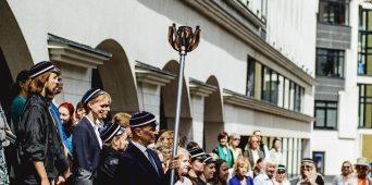 """Eesti Muusika- ja Teatriakadeemia tervitab XXVII laulu- ja XX tantsupidu """"Minu arm"""""""