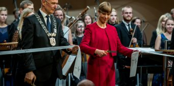 The Estonian Academy of Music and Theatre opened a new concert and performance centre