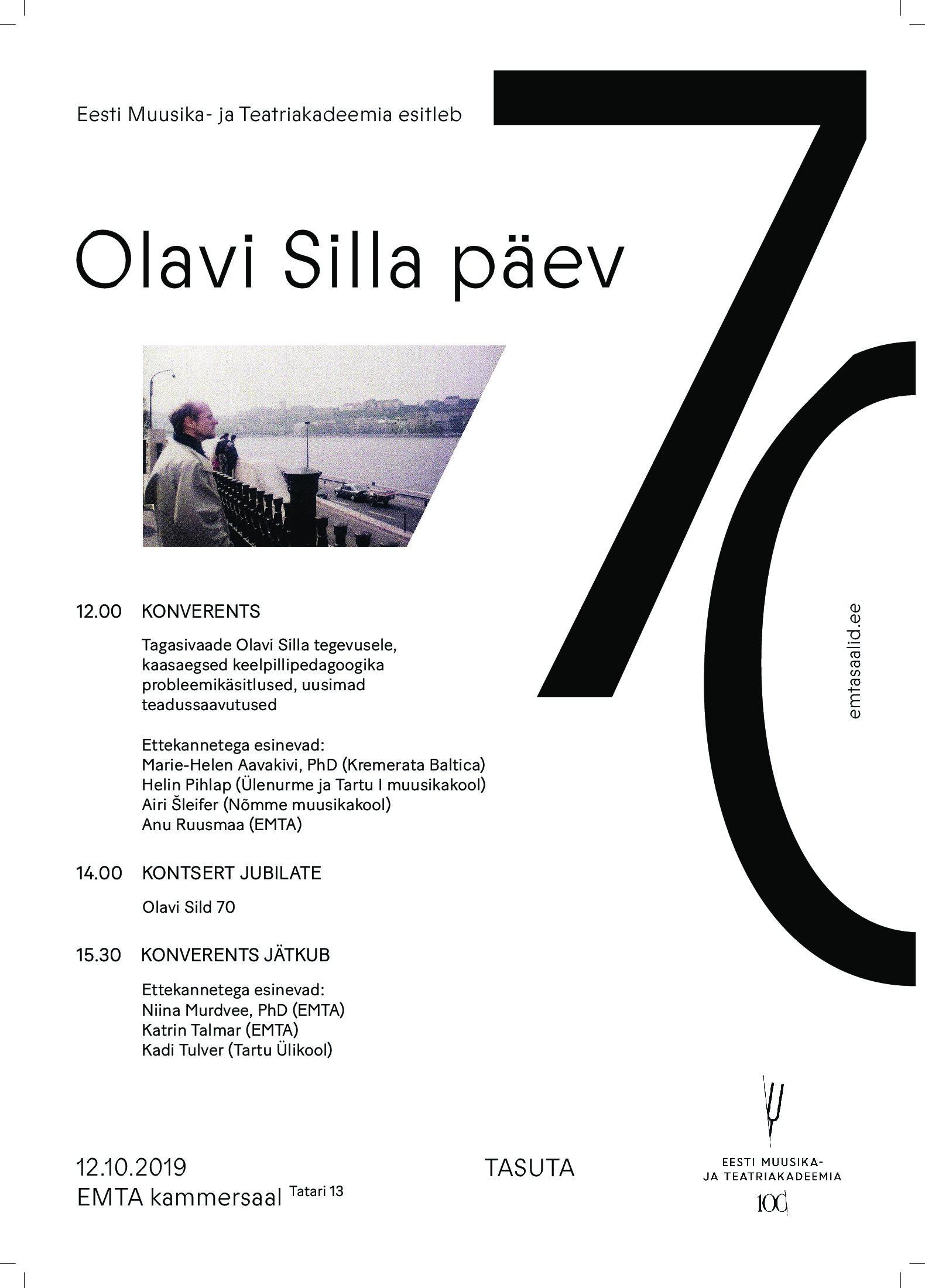 Olavi Silla päev