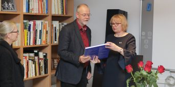 Täna avati Eesti Muusika- ja Teatriakadeemias prof Joachim Herzi tuba