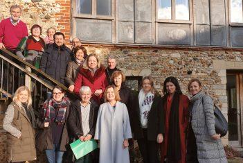 Eesti Muusika- ja Teatriakadeemia õppejõud ja üliõpilased Euroopa kammermuusika õpetajate assotsiatsiooni sügiskonvrerentsil Leiston Abbeys