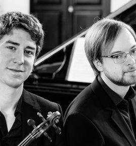 Kammermuusika meistrikursus: duo Michael Foyle - Maksim Štšura