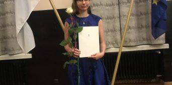 EMTA muusikateaduse üliõpilane Janika Mesi pälvis üliõpilaste teadustööde riiklikul konkursil preemia